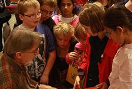 Auteursbezoek Jacques Vriens op De Noord 2011